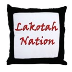 Lakotah Nation Throw Pillow