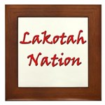 Lakotah Nation Framed Tile