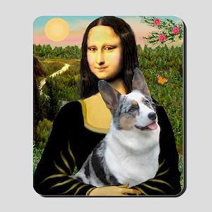 Mona's Corgi (Bl.M) Mousepad