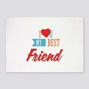 Best friends 5'x7'Area Rug