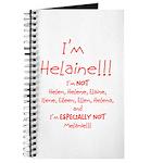 I'm Helaine Journal