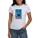 Obey the Russian Blue! Cat Women's T-Shirt