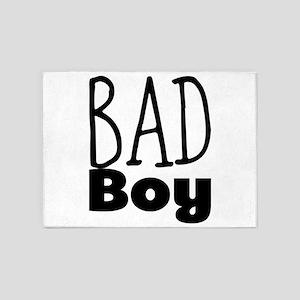 Bad Boy 5'x7'Area Rug