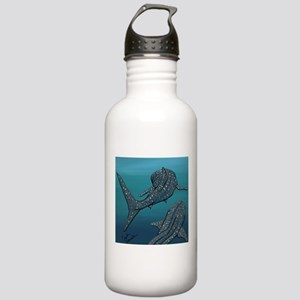 Whale Sharks Water Bottle