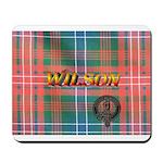 Wilson Tartan & Badge Mousepad