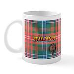 Wilson Tartan & Badge LH Mug