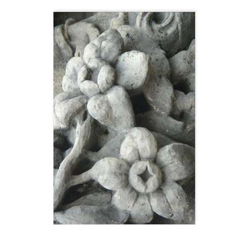 Stone flowers Postcards (Package of 8)