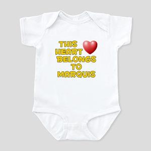 This Heart: Marquis (D) Infant Bodysuit