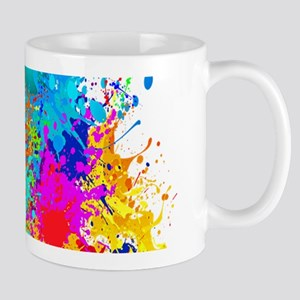 Colorful Vertical Burst Mugs