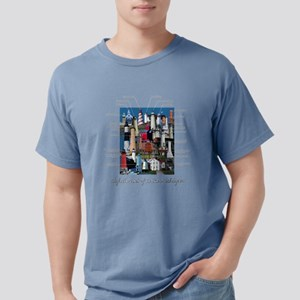 Lighthouses Of Lake Michigan Women's Dark T-Sh