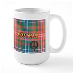 Wilson Tartan & Badge Large RH Mug