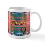 Wilson Tartan & Badge RH Mug