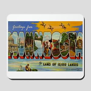 Greetings from Minnesota Mousepad