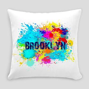 BROOKLYN NY SPLASH Everyday Pillow