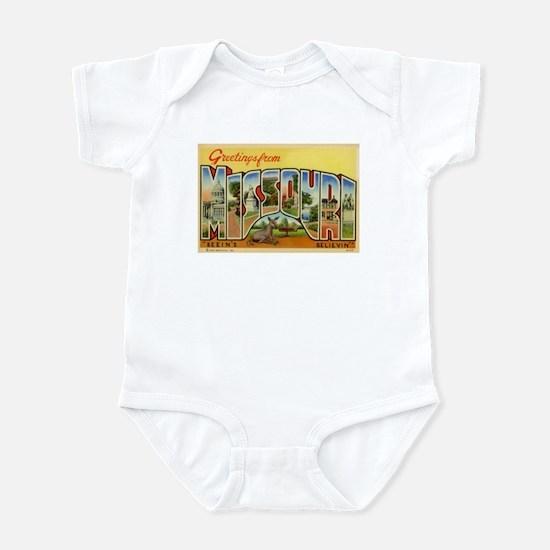 Greetings from Missouri Infant Bodysuit