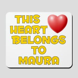 This Heart: Maura (D) Mousepad