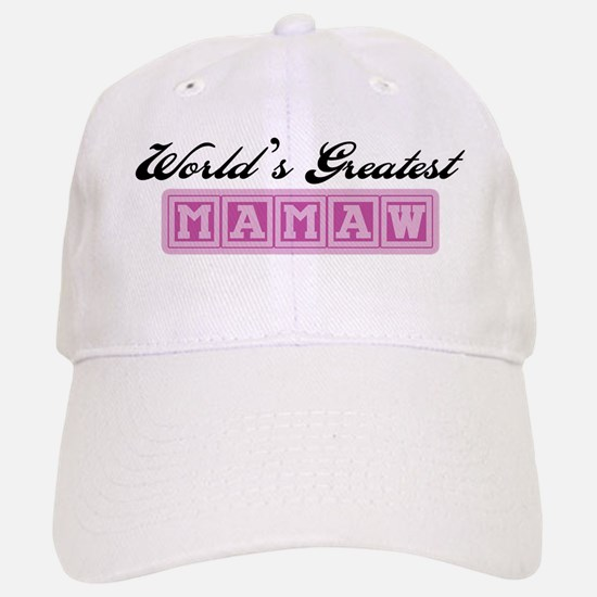 World's Greatest Mamaw Baseball Baseball Cap