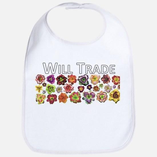 Will Trade for Daylilies Bib