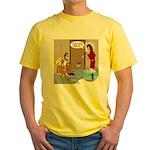 Karate Fish Escape Yellow T-Shirt