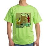 Karate Fish Escape Green T-Shirt