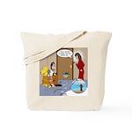 Karate Fish Escape Tote Bag