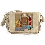 Karate Fish Escape Messenger Bag