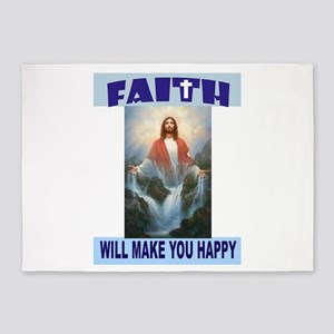 FAITH 5'x7'Area Rug