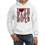 Love fast boys Hooded Sweatshirt