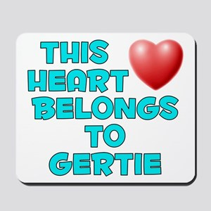 This Heart: Gertie (E) Mousepad
