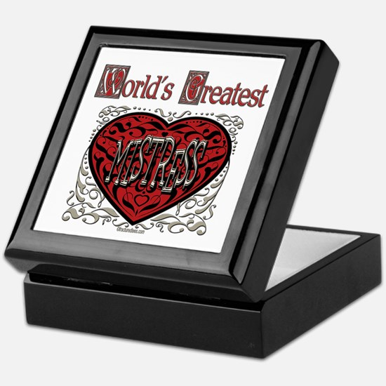 World's Best Mistress Keepsake Box