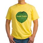 Hosta Trader Yellow T-Shirt
