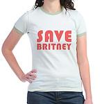SAVE BRITNEY Jr. Ringer T-Shirt