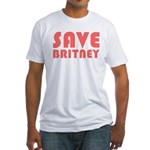 SAVE BRITNEY Fitted T-Shirt