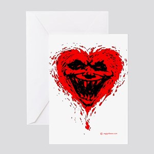 Evil Valentine Greeting Card