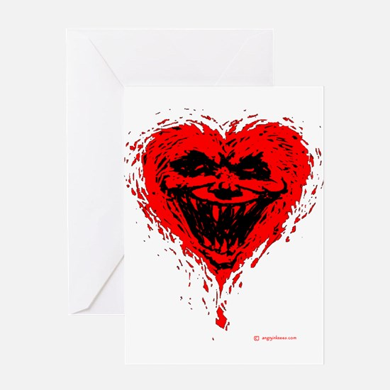 Evil Valentine Greeting Card