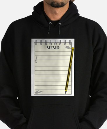 Lined Memo Notepad With Pencil Sweatshirt