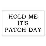 Patch Day Rectangle Sticker