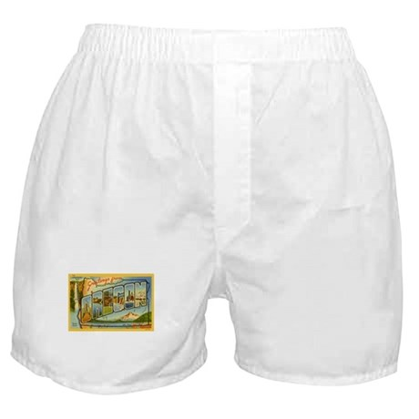 Greetings from Oregon Boxer Shorts