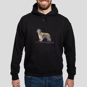 Pyrenean Shepherd Love Hoodie (dark)