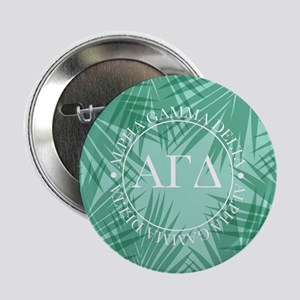 """Alpha Gamma Delta Leaves 2.25"""" Button (10 pack)"""