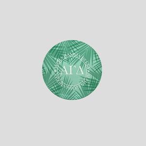 Alpha Gamma Delta Leaves Mini Button