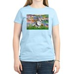 Lilies (#2) - Corgi (Bl.M) Women's Light T-Shirt