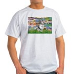 Lilies (#2) - Corgi (Bl.M) Light T-Shirt