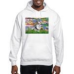 Lilies (#2) - Corgi (Bl.M) Hooded Sweatshirt