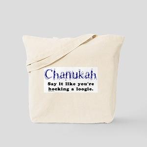 Chanukah Hocking A Loogie Tote Bag