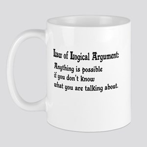 Law of Logical Argument Mug