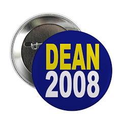 Dean for President 2008 (Button)