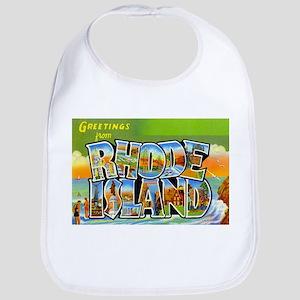 Greetings from Rhode Island Bib