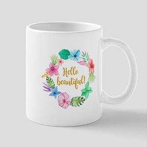 HELLO BEAUTIFUL! Mugs