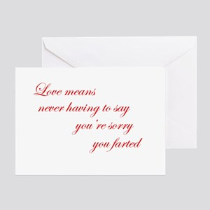 Funny Love Story Valentines (Pk of 10) Greeting Ca